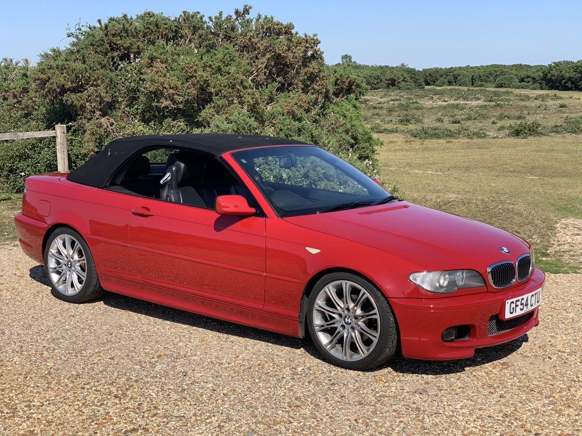 2004 bmw e46 325 Msport convertible Imola Red  For Sale (picture 2 of 6)