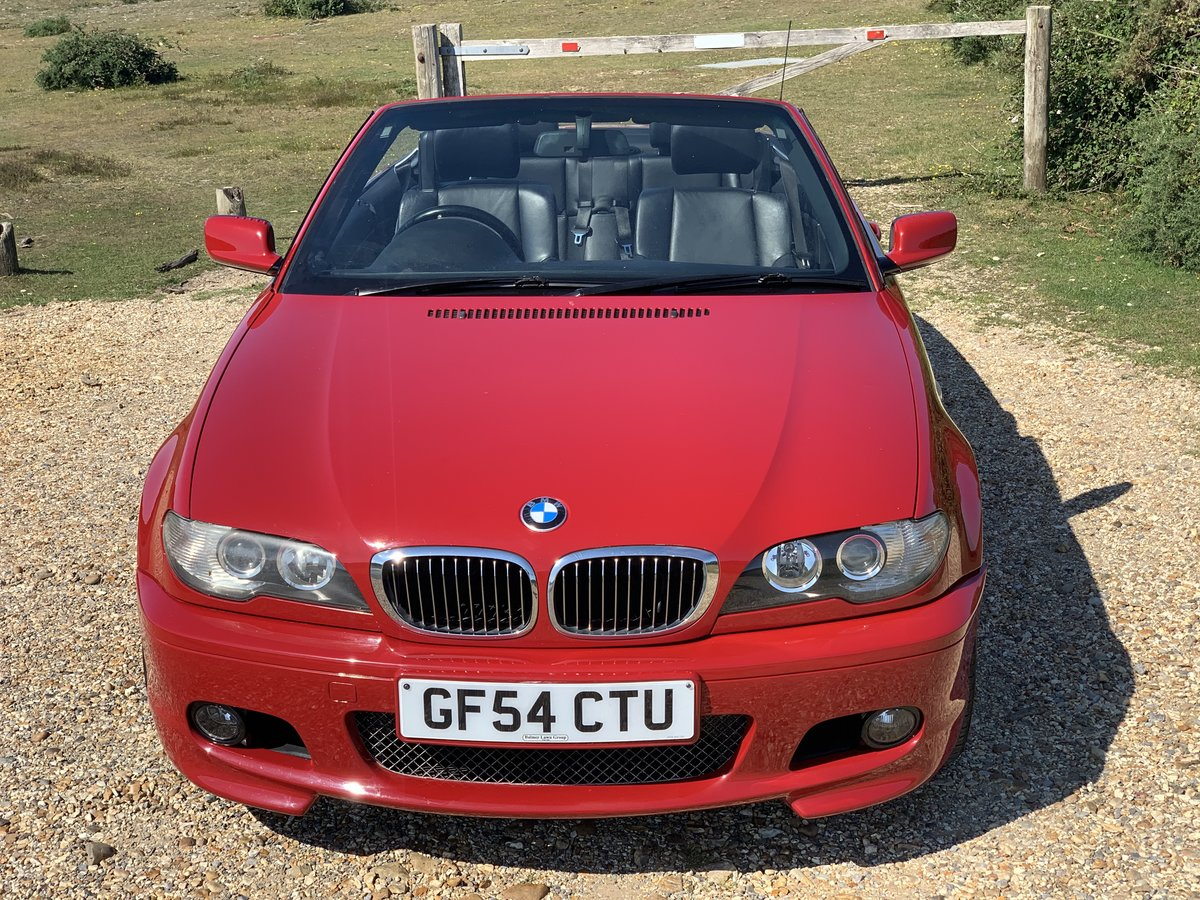 2004 bmw e46 325 Msport convertible Imola Red  For Sale (picture 3 of 6)