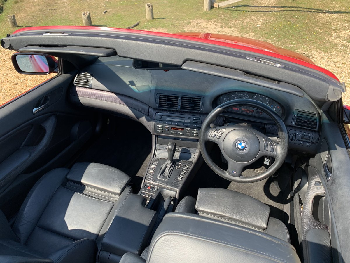 2004 bmw e46 325 Msport convertible Imola Red  For Sale (picture 4 of 6)