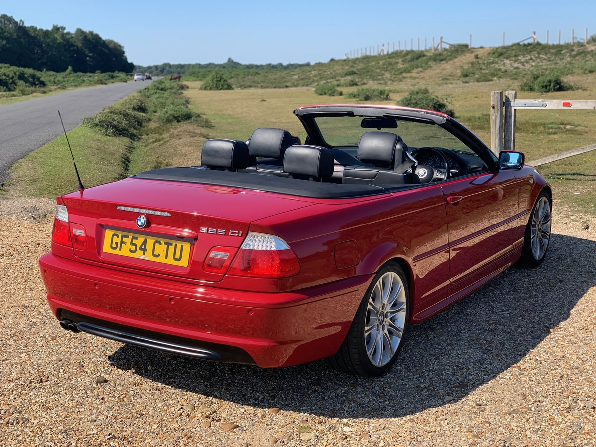 2004 bmw e46 325 Msport convertible Imola Red  For Sale (picture 5 of 6)