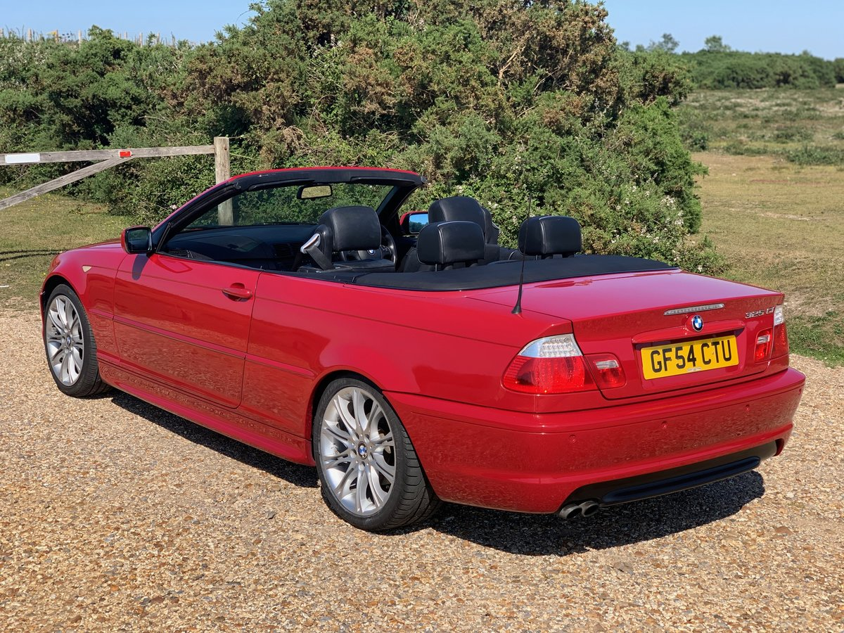 2004 bmw e46 325 Msport convertible Imola Red  For Sale (picture 6 of 6)