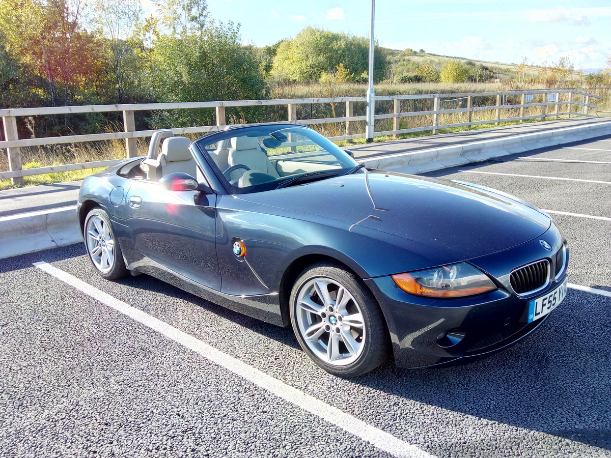 2005 BMW Z4 SE Roadster For Sale (picture 1 of 6)