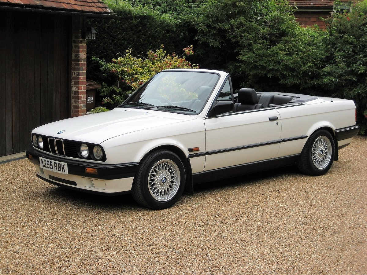 1993 BMW 318i Lux Auto Convertible With Same Owner Last 18 Years For Sale (picture 1 of 6)