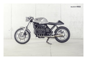 "BMW K100 ""Cafe Racer"" inspired custom build"