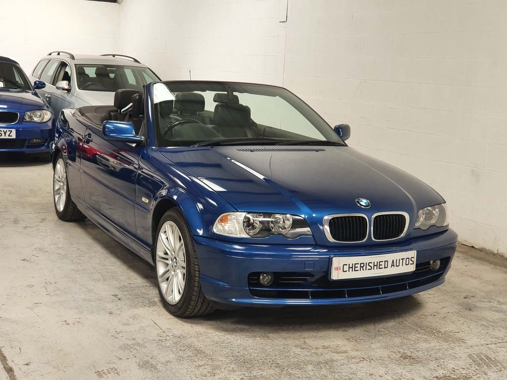 2003 BMW 3 Series Convertible - GENIUNE 72,000 MILES*STUNNING CAR For Sale (picture 1 of 6)