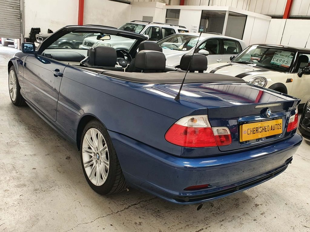 2003 BMW 3 Series Convertible - GENIUNE 72,000 MILES*STUNNING CAR For Sale (picture 2 of 6)