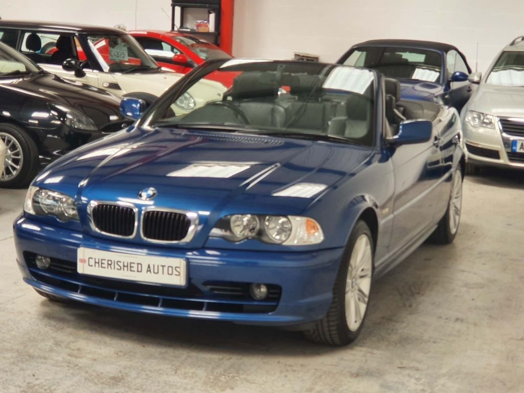 2003 BMW 3 Series Convertible - GENIUNE 72,000 MILES*STUNNING CAR For Sale (picture 3 of 6)