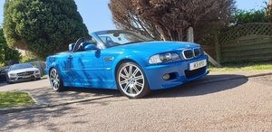 M3 E46 Convertible manual -- GENUINE LOW MILEAGE EXAMPLE