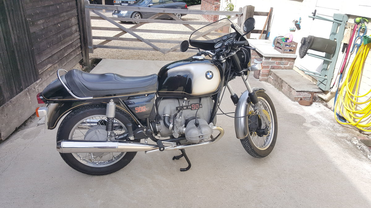 1973 Excellent BMW R90S rare early model For Sale (picture 1 of 6)