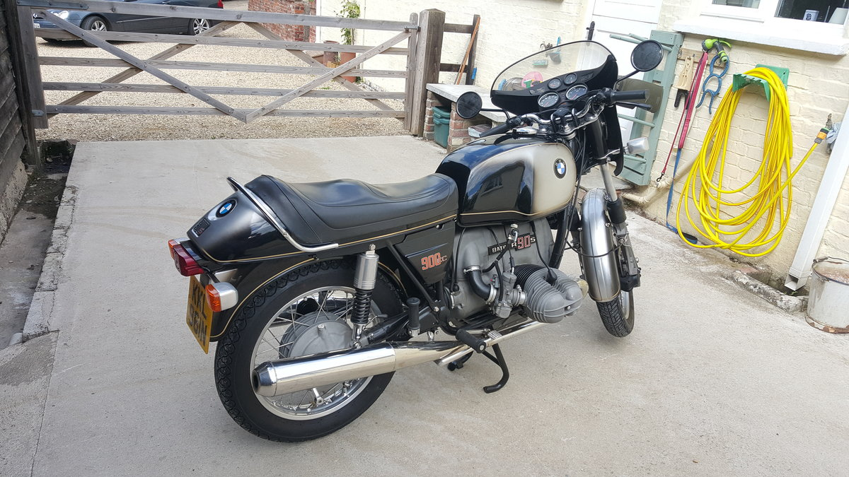 1973 Excellent BMW R90S rare early model For Sale (picture 4 of 6)