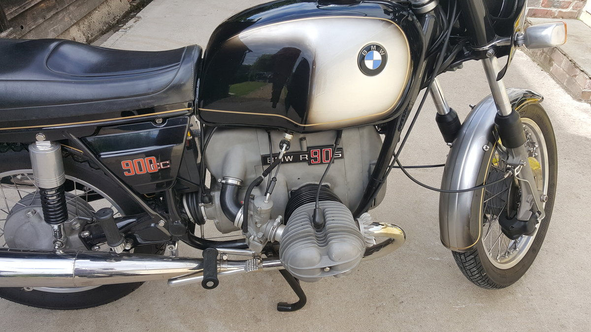 1973 Excellent BMW R90S rare early model For Sale (picture 6 of 6)