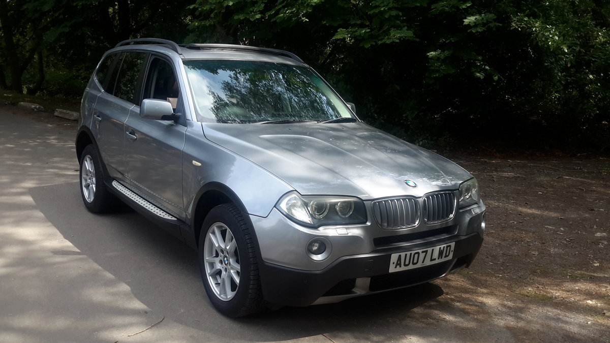 BMW X3  3.0D SE 2007 AUTOMATIC PAN ROOF LEATHER SAT NAV For Sale (picture 2 of 6)