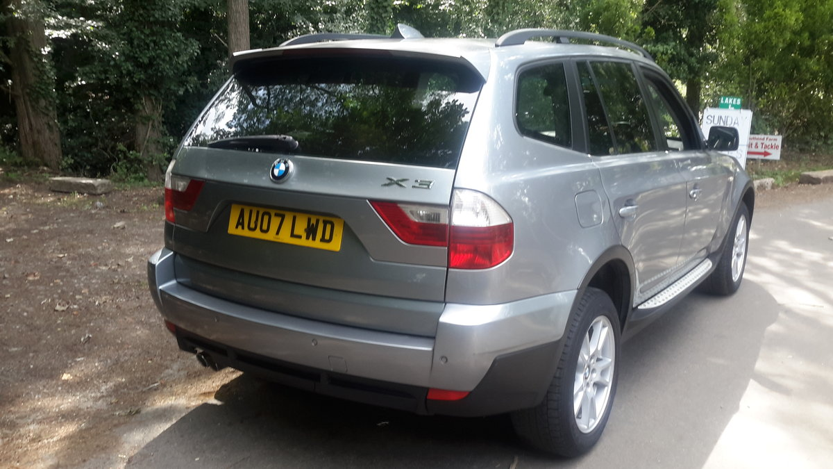 BMW X3  3.0D SE 2007 AUTOMATIC PAN ROOF LEATHER SAT NAV For Sale (picture 6 of 6)