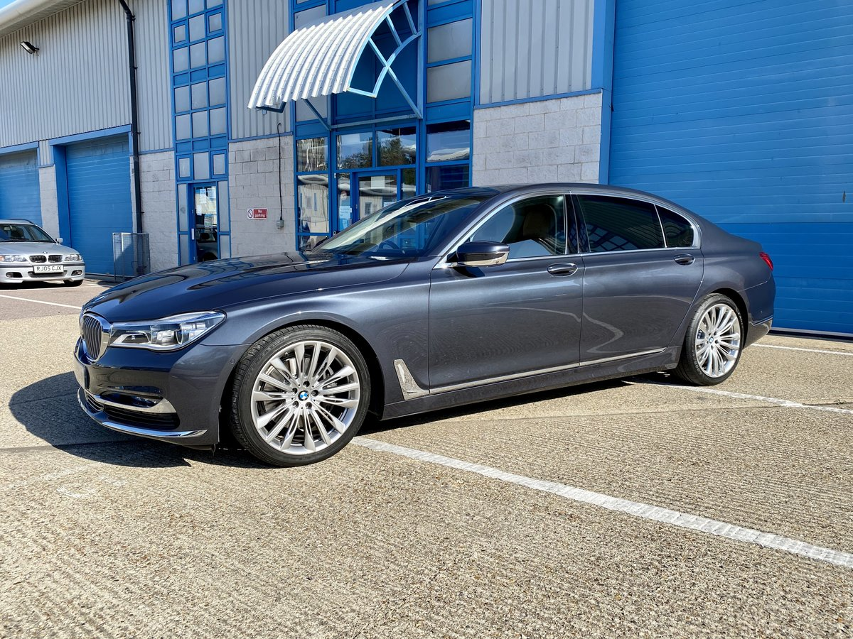 2015 One of a Kind Special Order From Park Lane BMW 740Li  SOLD (picture 1 of 6)