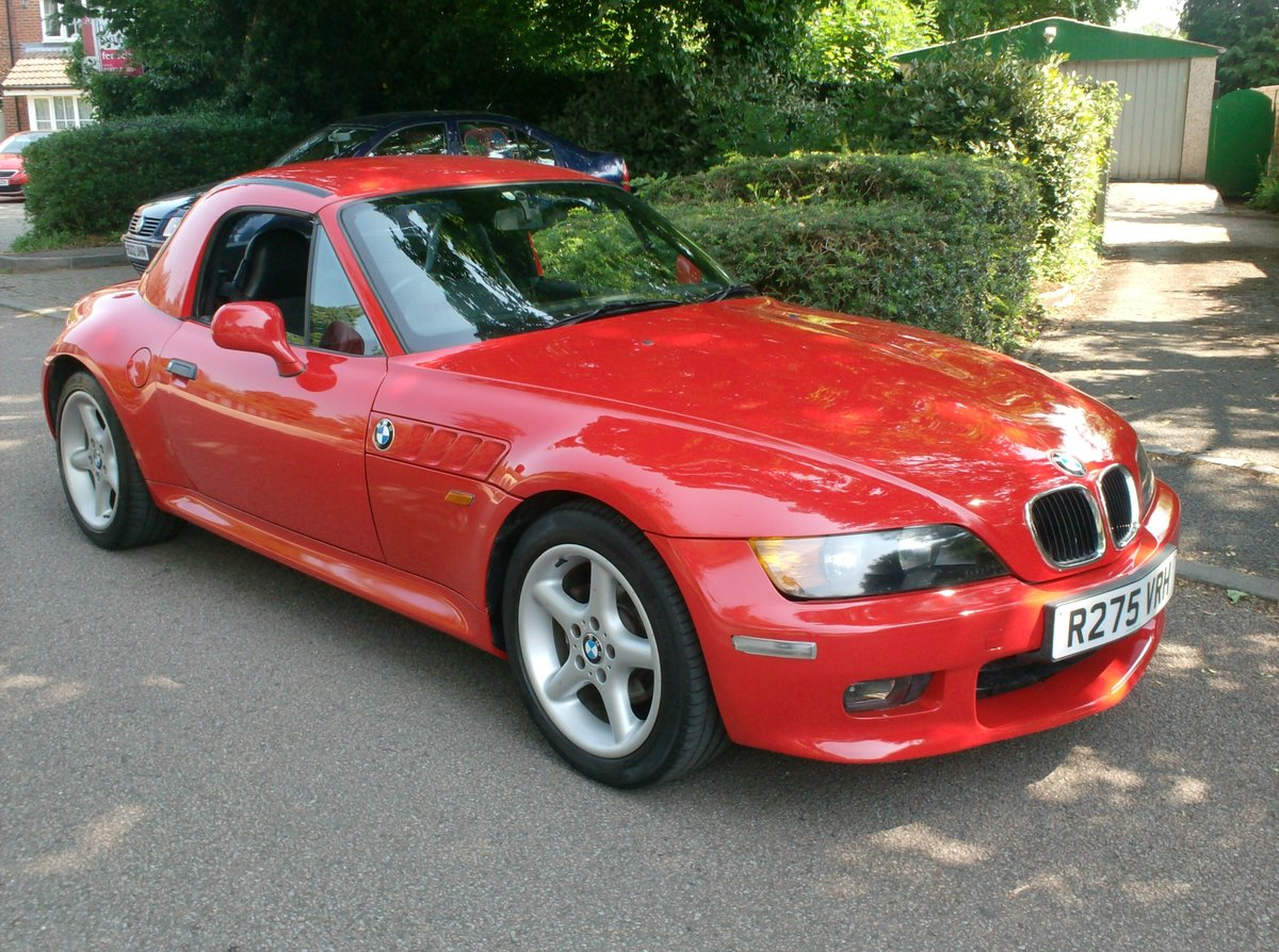 1998 BMW Z3 2.8 WIDEBODY inc HARD TOP For Sale (picture 1 of 6)