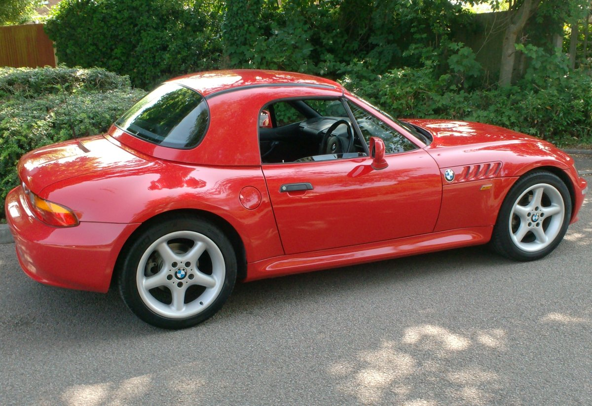 1998 BMW Z3 2.8 WIDEBODY inc HARD TOP For Sale (picture 2 of 6)