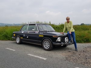 BMW 2002tii - RHD Black