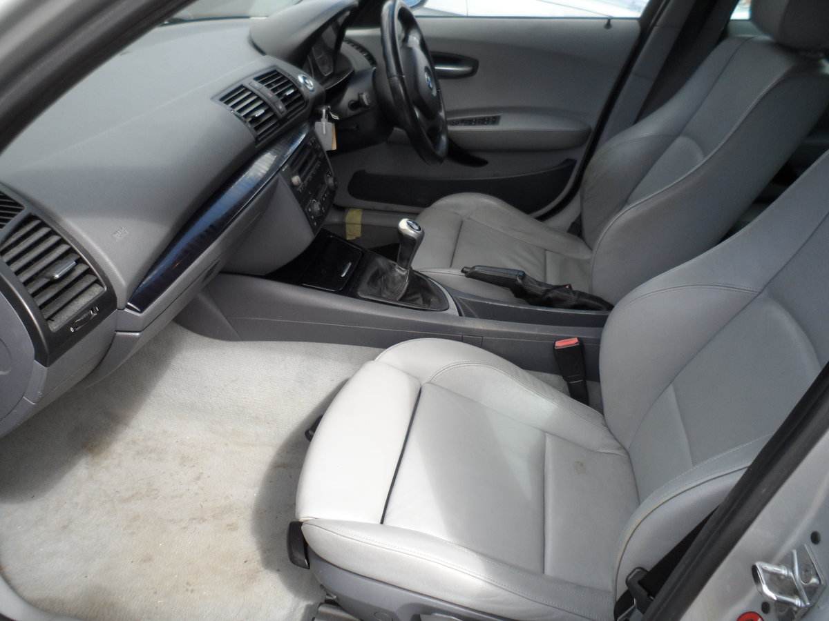 2007 BMW ONE 5 DOOR HATCHBACK S.E MODEL WITH LEATHER TRIM 144K 07 For Sale (picture 6 of 6)