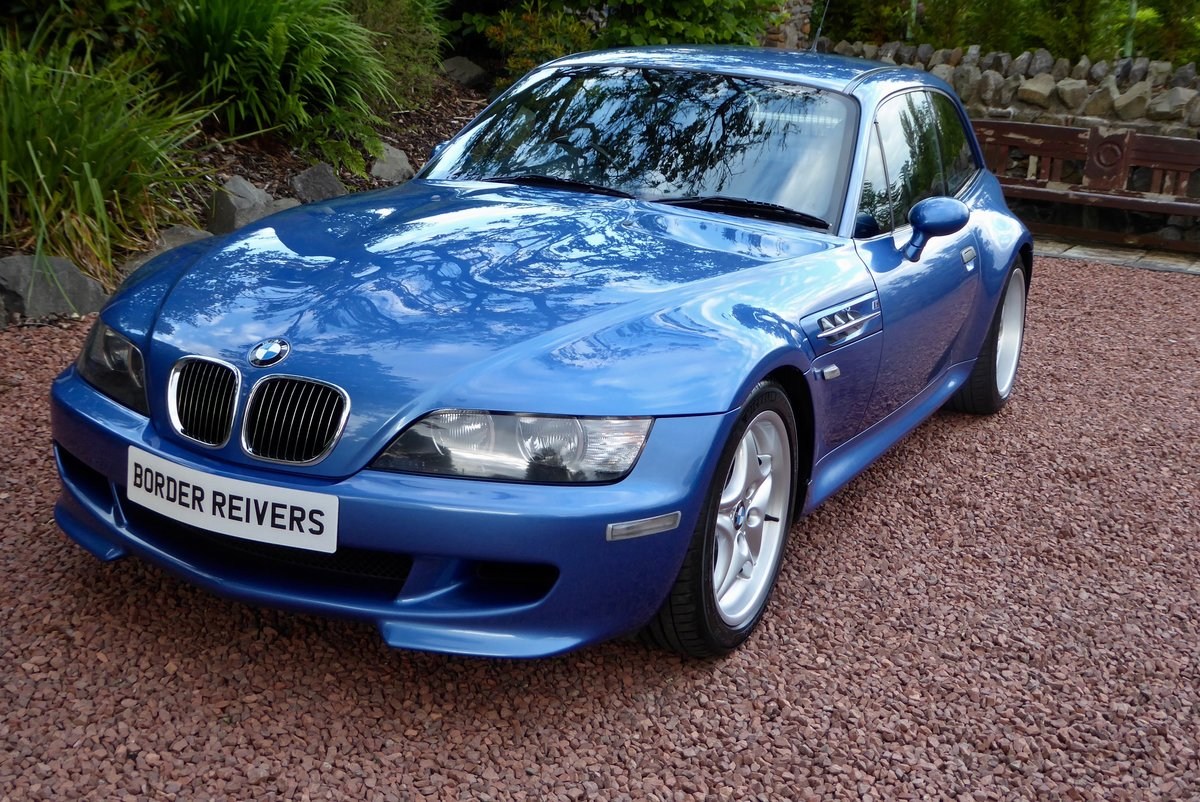 2001 BMW ZM Coupe beautiful in the best colour For Sale (picture 1 of 6)