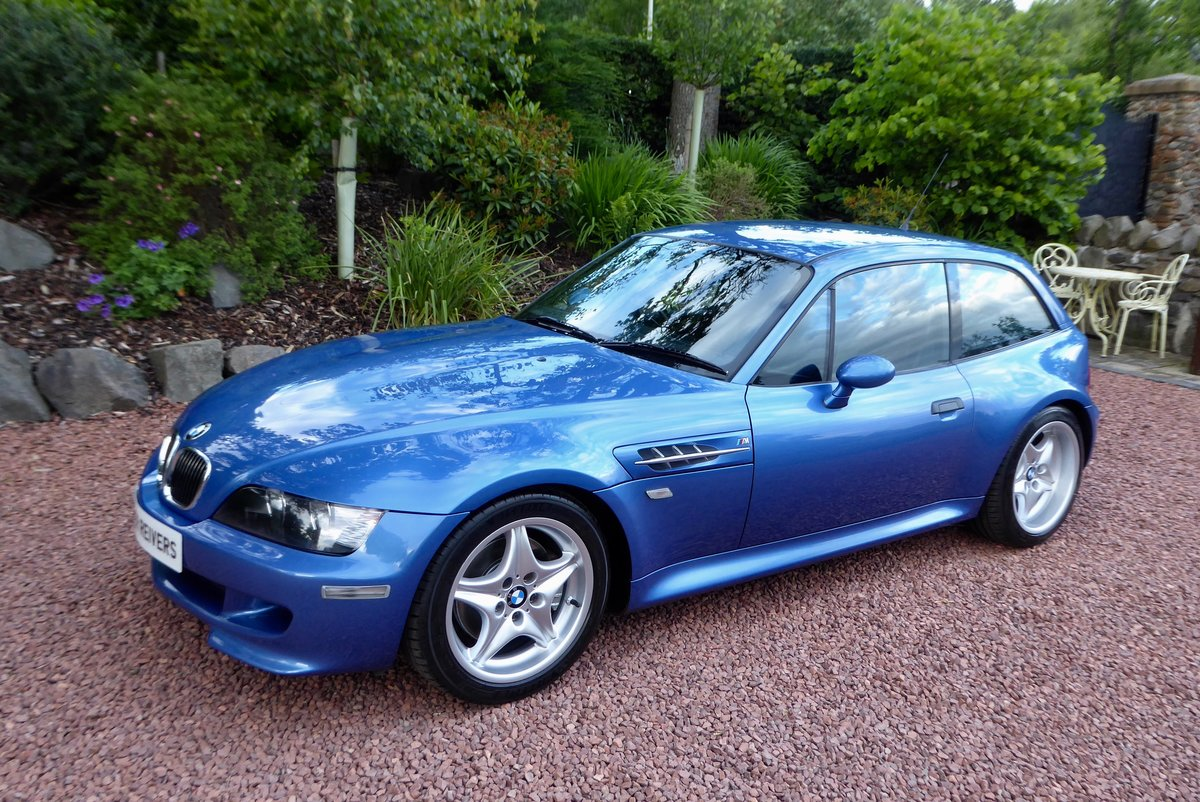 2001 BMW ZM Coupe beautiful in the best colour For Sale (picture 2 of 6)