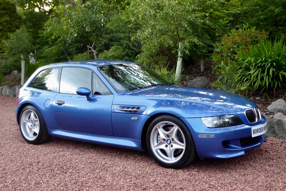 2001 BMW ZM Coupe beautiful in the best colour For Sale (picture 3 of 6)