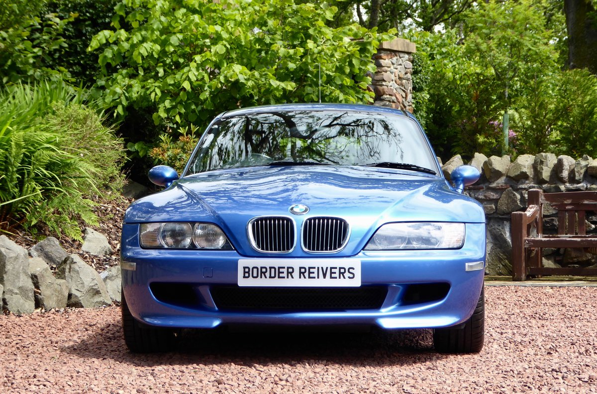 2001 BMW ZM Coupe beautiful in the best colour For Sale (picture 4 of 6)