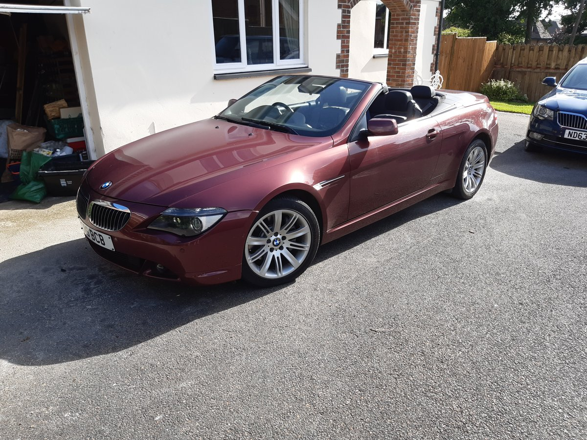 2004 Rare Manual 645 convertible with low mileage For Sale (picture 1 of 6)
