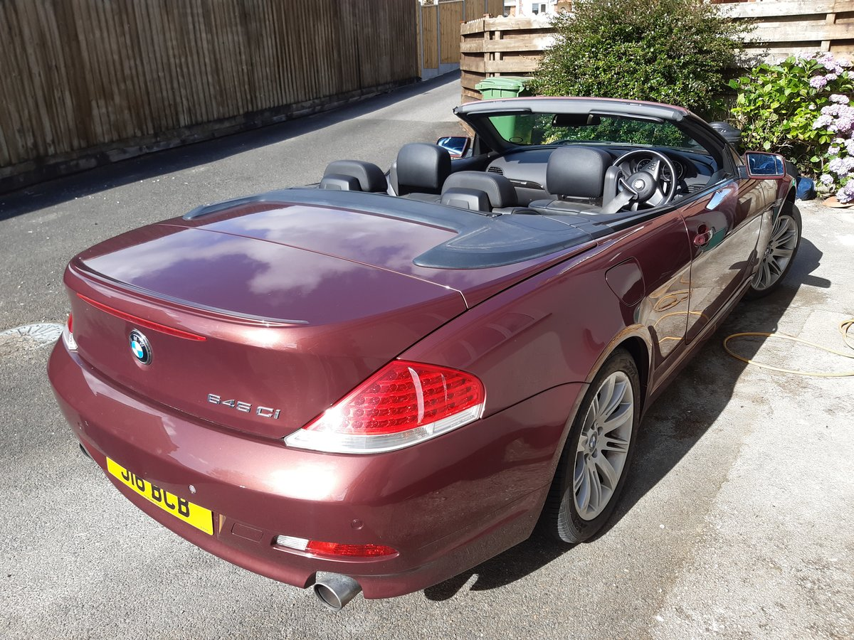 2004 Rare Manual 645 convertible with low mileage For Sale (picture 4 of 6)