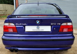 2000 Immaculate Alpina B10 V8 - ONLY 64,000 Miles - 1 of 3 Colour
