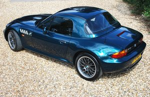 BMW Z3 2.8 hard top ** £7k factory options ** Immaculate !