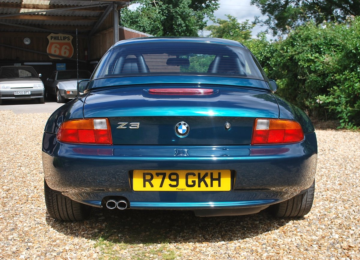 1997 BMW Z3 2.8 hard top ** £7k factory options ** Immaculate ! SOLD (picture 5 of 6)