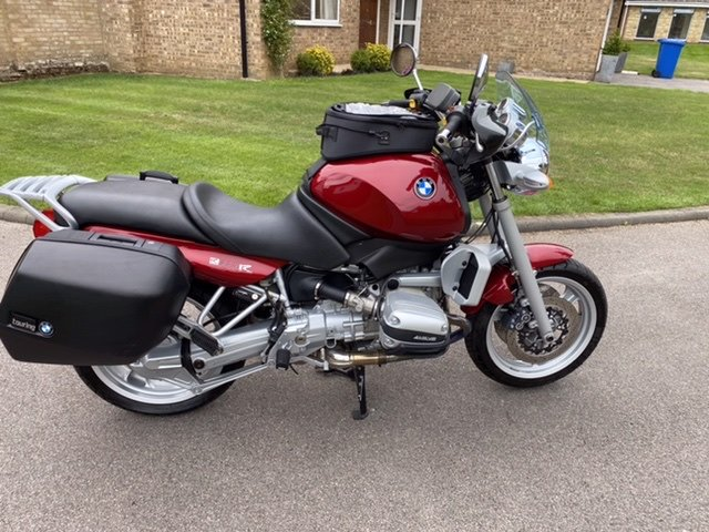 1998 BMW R850R Low mileage, Immaculate with luggage SOLD (picture 2 of 6)