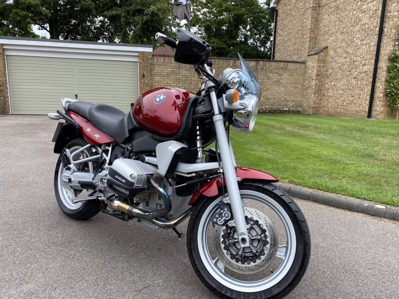 1998 BMW R850R Low mileage, Immaculate with luggage SOLD (picture 5 of 6)