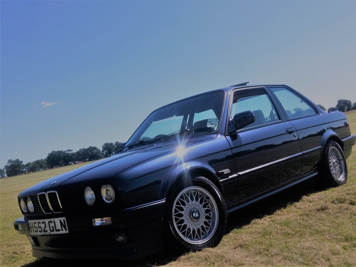 1991 E30 318is m42 laser blue SOLD (picture 2 of 4)