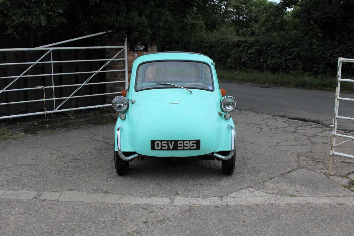 1960 BMW Isetta - UK supplied, matching numbers - fully restored For Sale (picture 2 of 9)