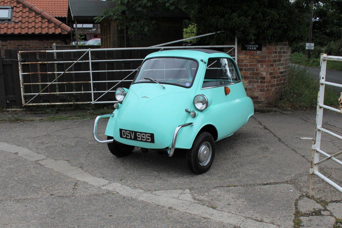 1960 BMW Isetta - UK supplied, matching numbers - fully restored For Sale (picture 3 of 9)
