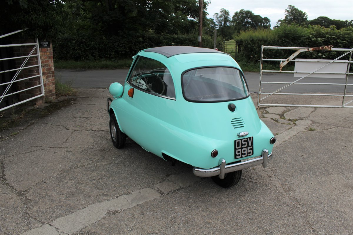 1960 BMW Isetta - UK supplied, matching numbers - fully restored For Sale (picture 4 of 9)
