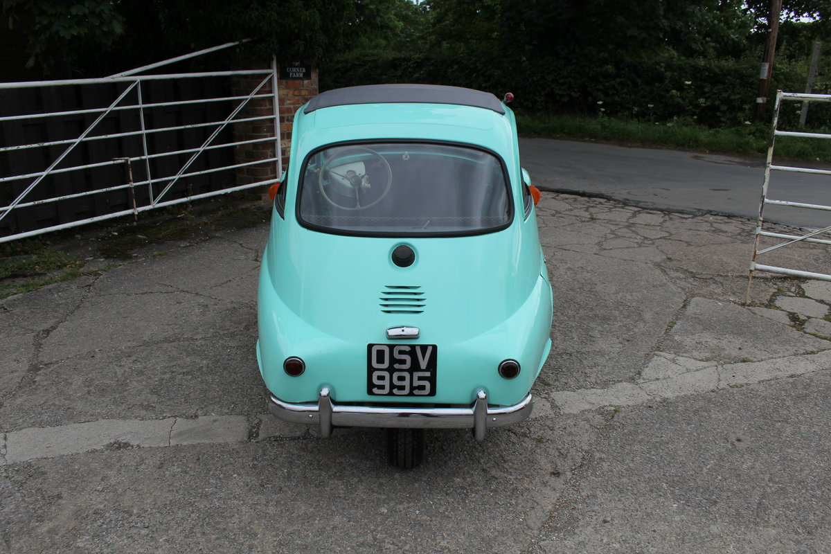 1960 BMW Isetta - UK supplied, matching numbers - fully restored For Sale (picture 5 of 9)