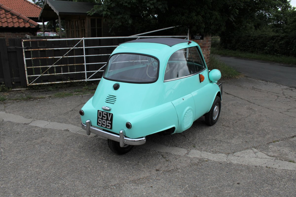 1960 BMW Isetta - UK supplied, matching numbers - fully restored For Sale (picture 6 of 9)