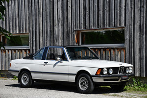 "1978 One of just 591 BAUR ""Topcabriolet"" built on a BMW 316 E21 b"