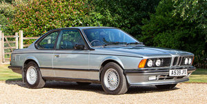 1983 BMW 635CSi Coupé