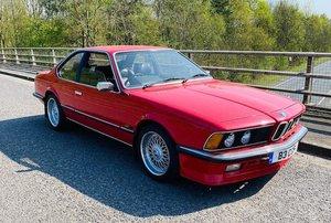 1986 BMW 635CSi Coupé