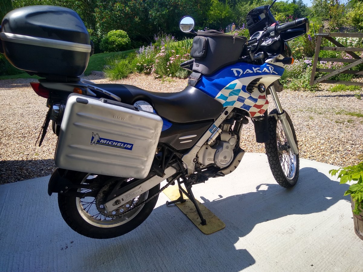 2002 BMW F650GS Dakar - Fully loaded SOLD (picture 1 of 6)