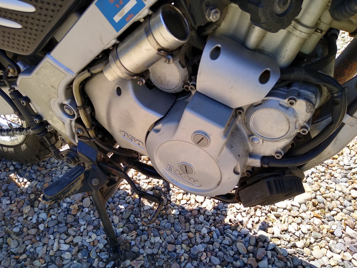 2002 BMW F650GS Dakar - Fully loaded SOLD (picture 4 of 6)