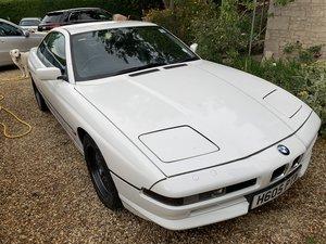 1991 BMW 850i project