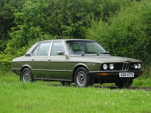 1979 BMW 528i For Sale by Auction