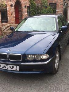 2001 BMW 728i Low Mileage Beauty £2750.00