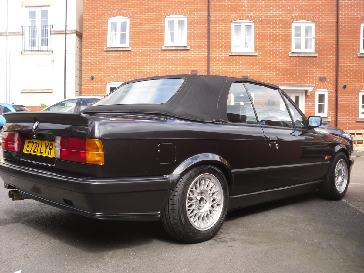 1988 Bmw 325i auto cabriolet shadowline  For Sale (picture 5 of 6)