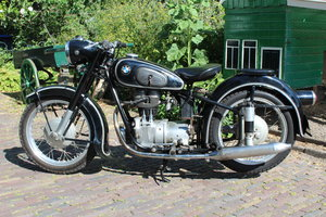 1955 BMW R25/3 in original paint