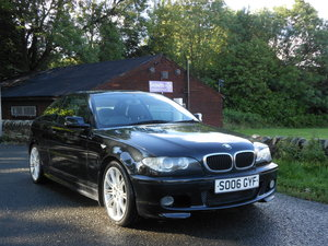 2006 BMW 320CD M SPORT COUPE Face Lift 6 SPD